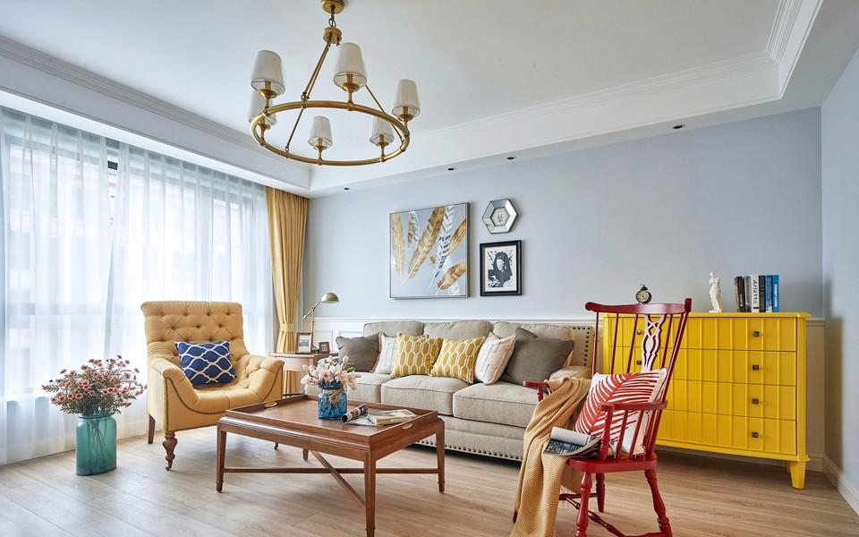 2室1卫2厅100平米美式风格