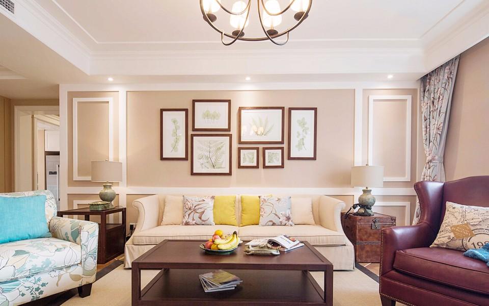 1室1卫1厅80平米美式风格