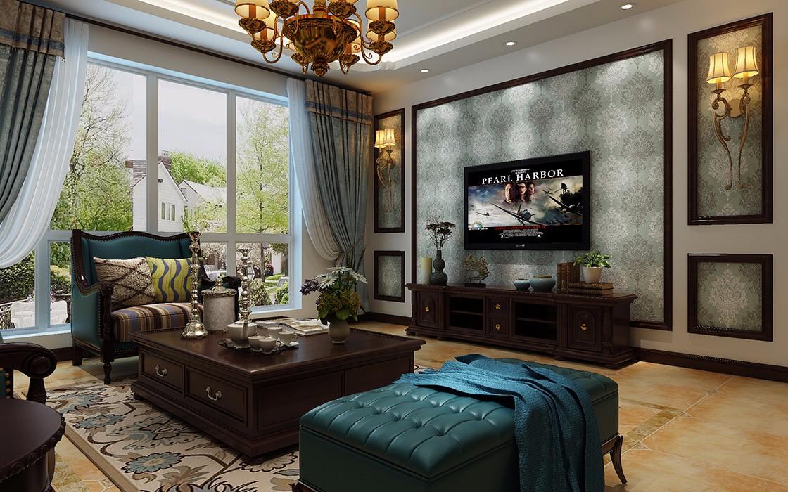 4室3卫2厅200平米美式风格