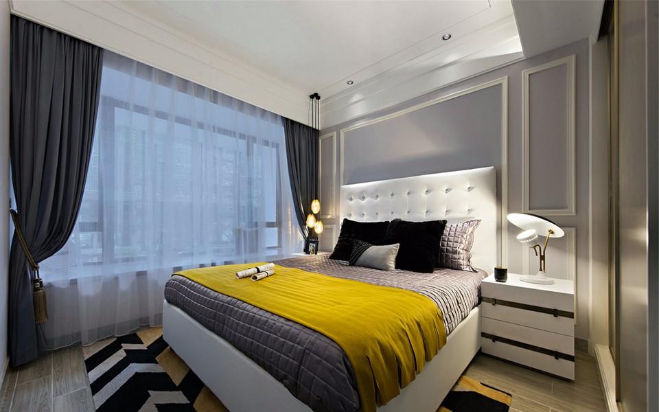 4室2卫2厅98平米现代风格
