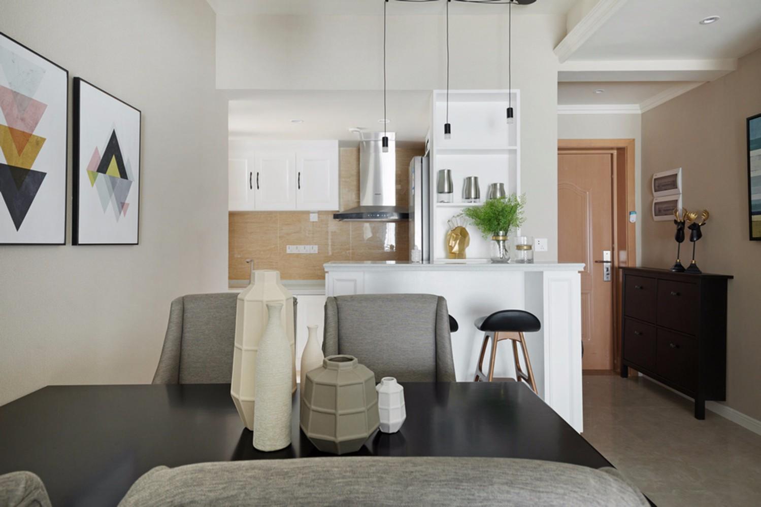 2室1卫1厅70平米美式风格