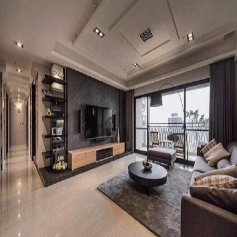 上海公馆119三居室简约装修效果图