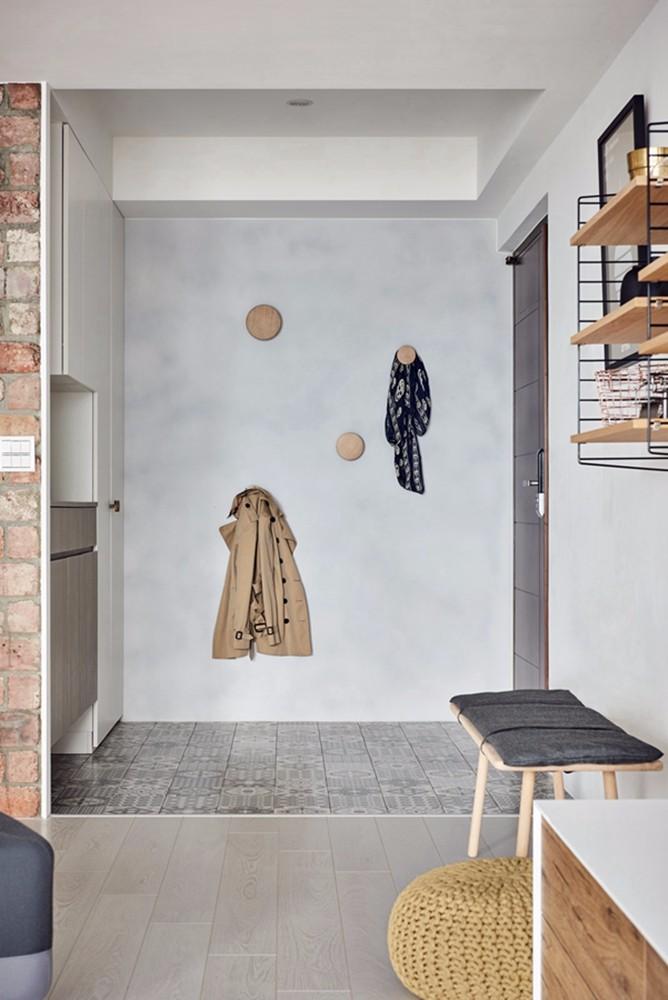 南京虎踞路67号小区140平米简约风格一居室装修效果图