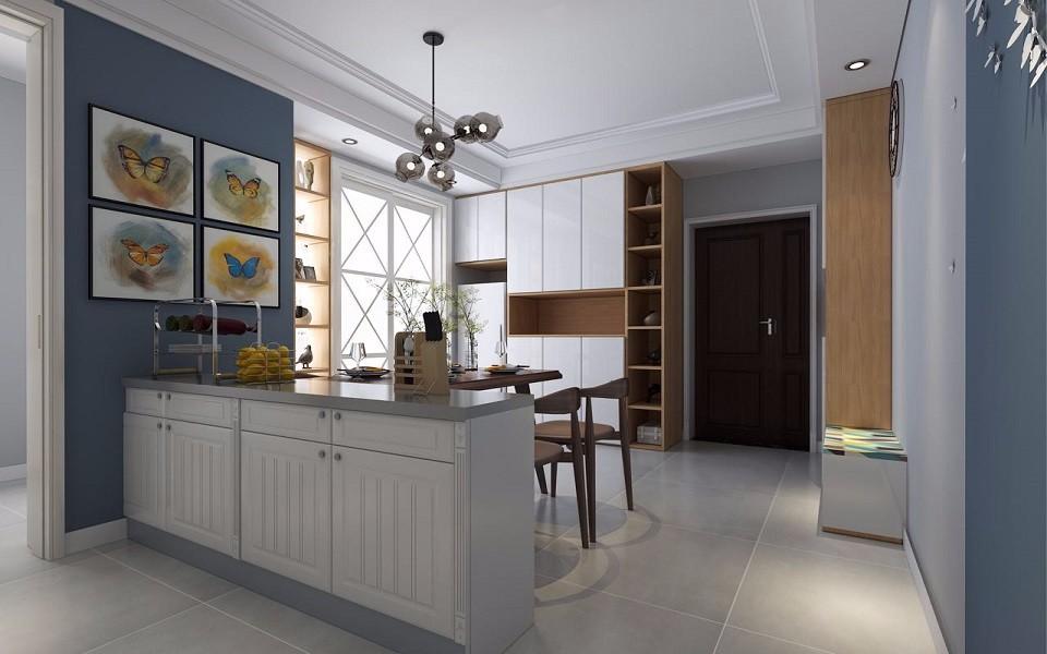 開元一號140平現代風格3室2廳裝修效果圖