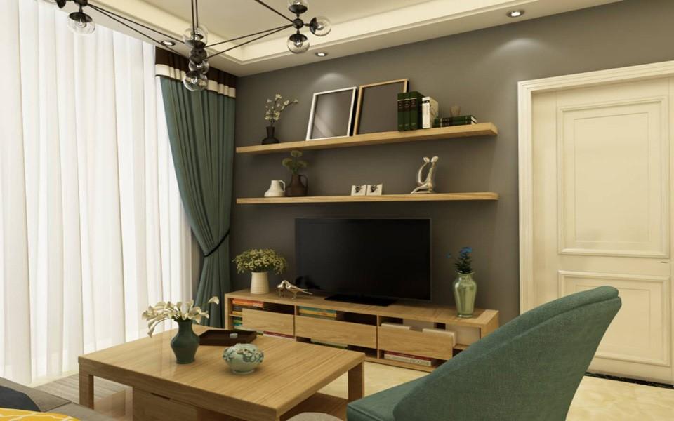 2室1卫1厅80平米北欧风格