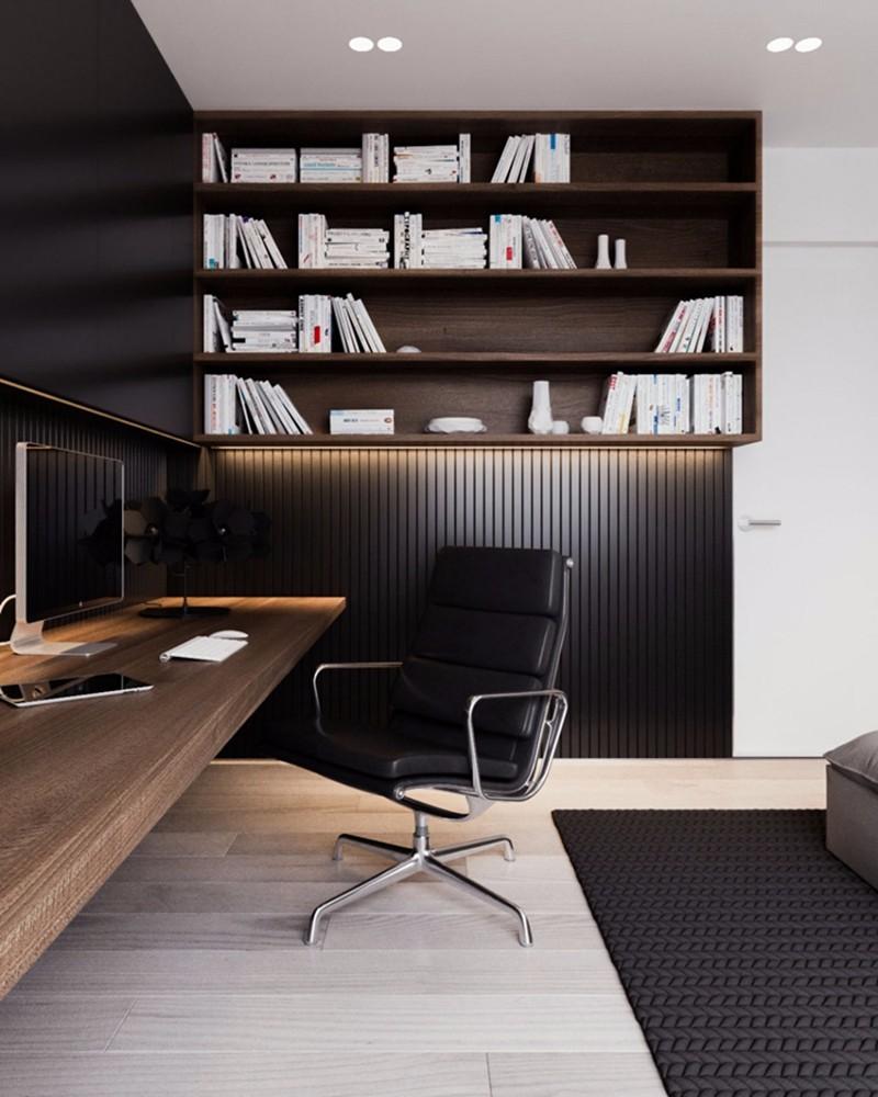 南京东城世家80平米北现代风格二居室装修效果图