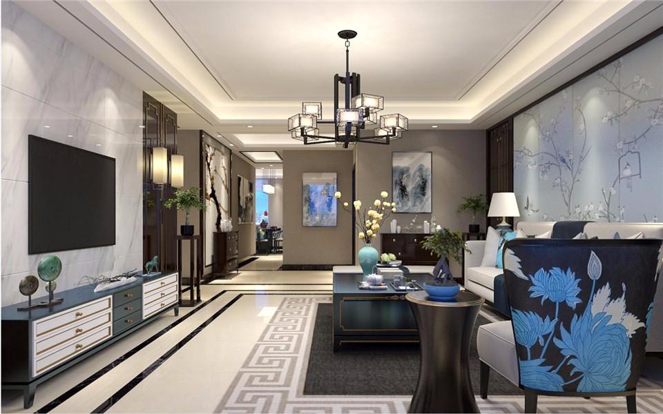 4室2卫2厅142平米中式风格
