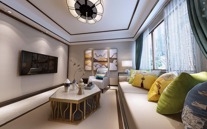 2室1卫1厅110平米简中风格