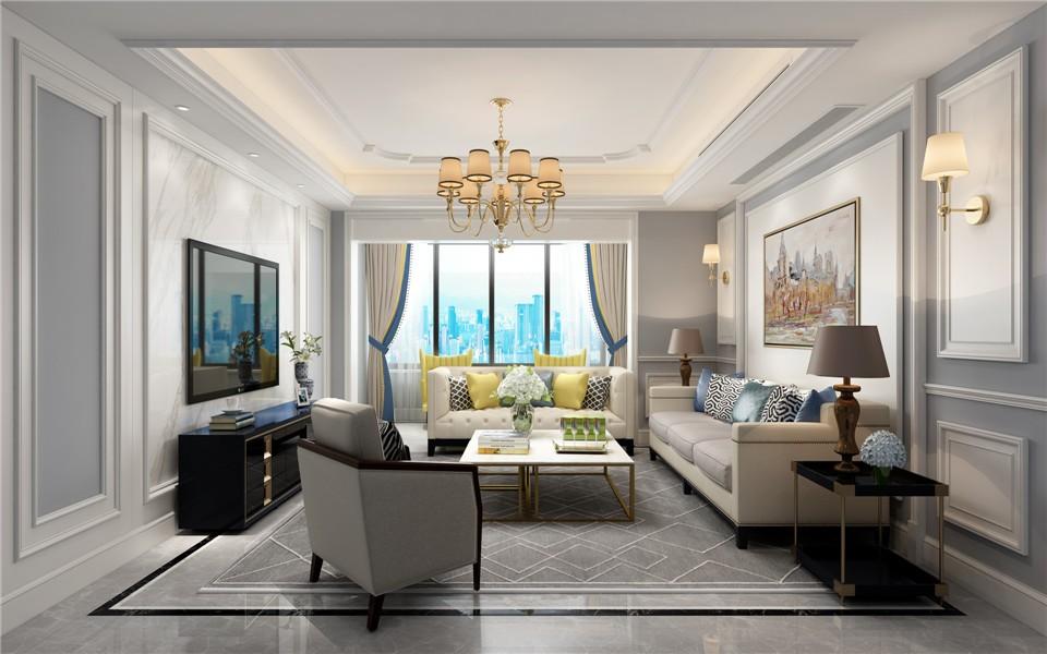 3室3卫1厅180平米欧式风格