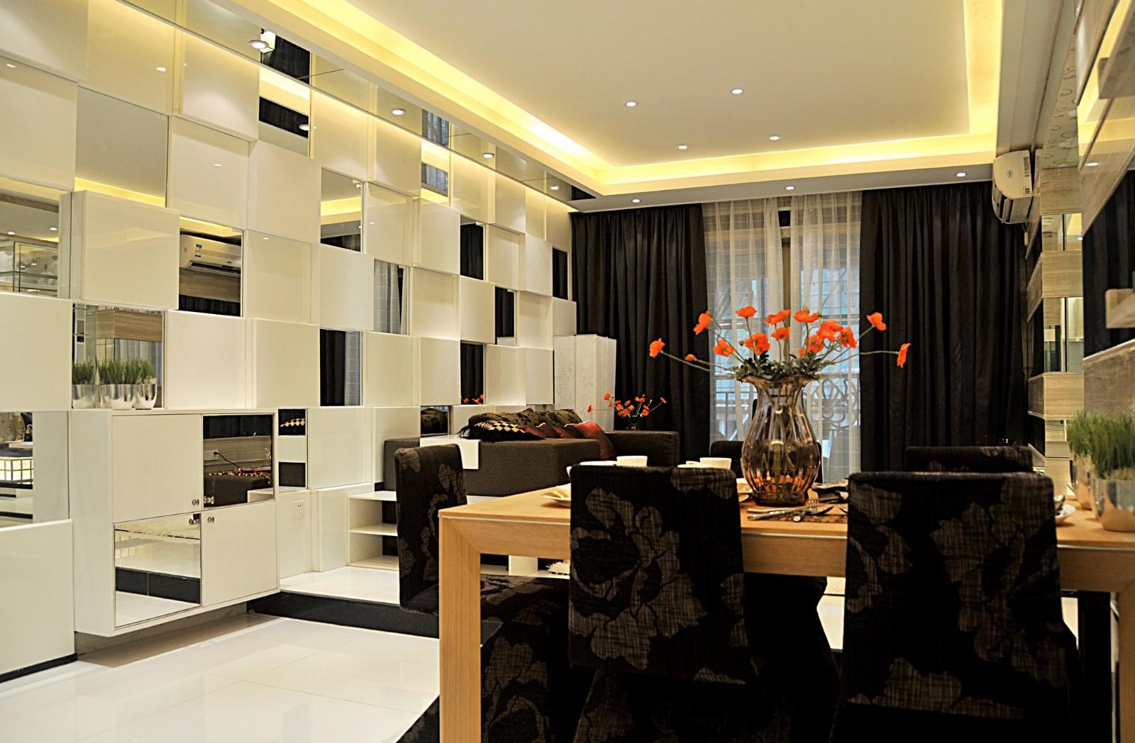 2021后现代90平米效果图 2021后现代二居室装修设计