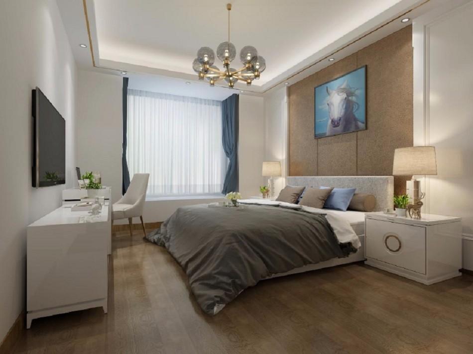 3室2卫1厅90平米现代简约风格