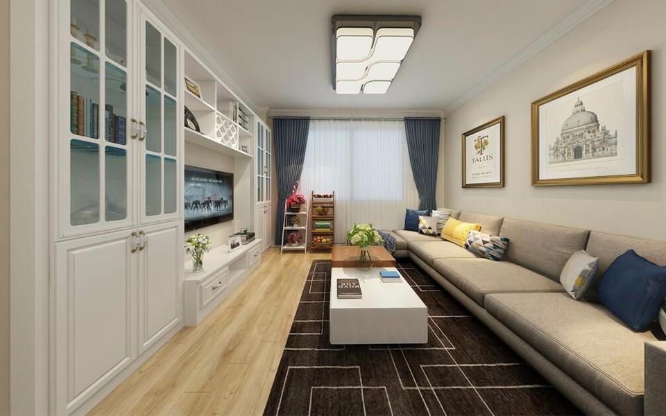 2室1卫1厅90平米田园风格