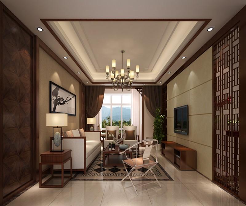 3室2卫2厅141平米新中式风格