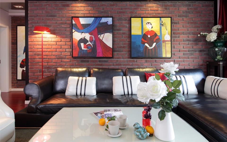 3室2卫1厅130平米混搭风格