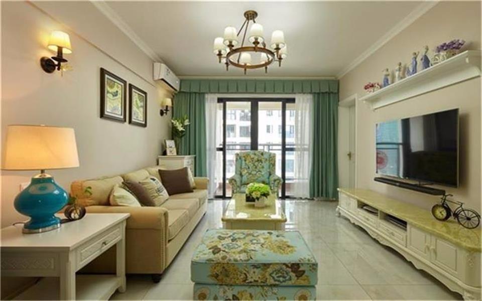 3室1卫2厅89.9平米简欧风格