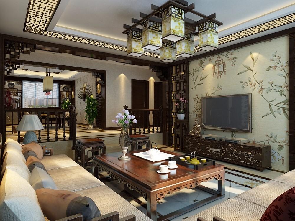 2020中式古典240平米裝修圖片 2020中式古典四居室裝修圖