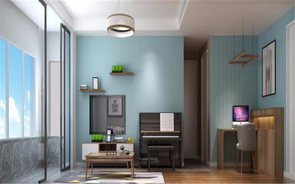 融科瀚棠80平米北欧风格两居室装修效果图