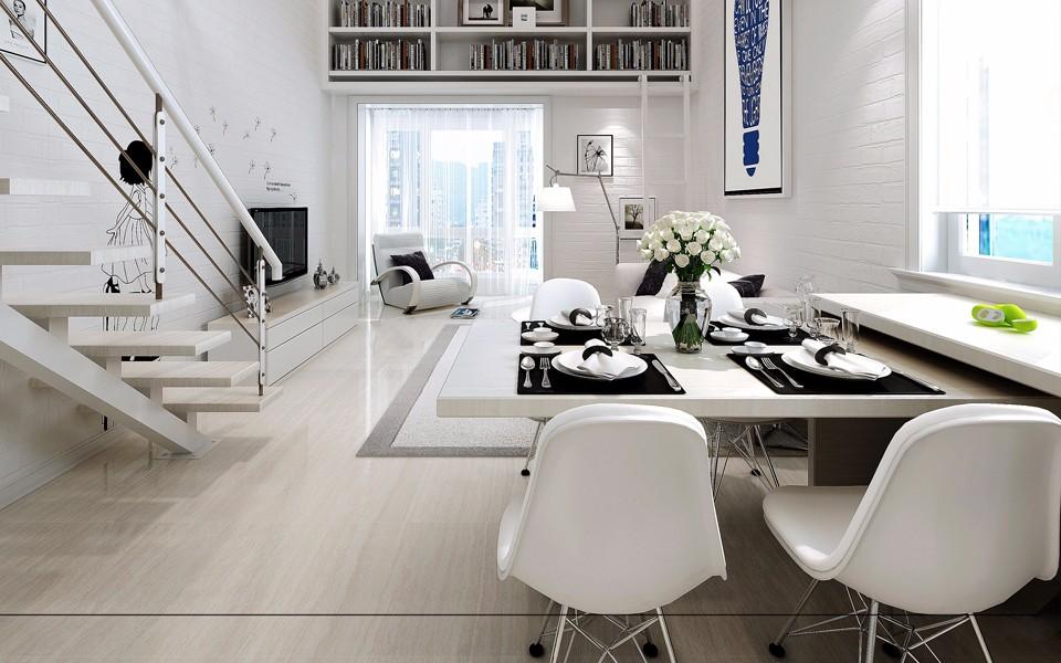 2020北歐90平米裝飾設計 2020北歐LOFT裝飾設計