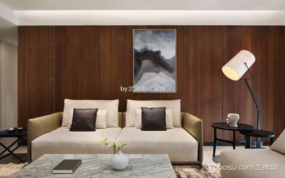 150平米现代风格三居室装修效果图