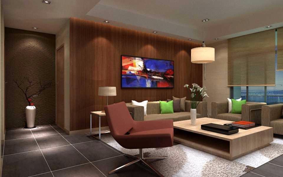 3室1卫2厅88平米现代中式风格