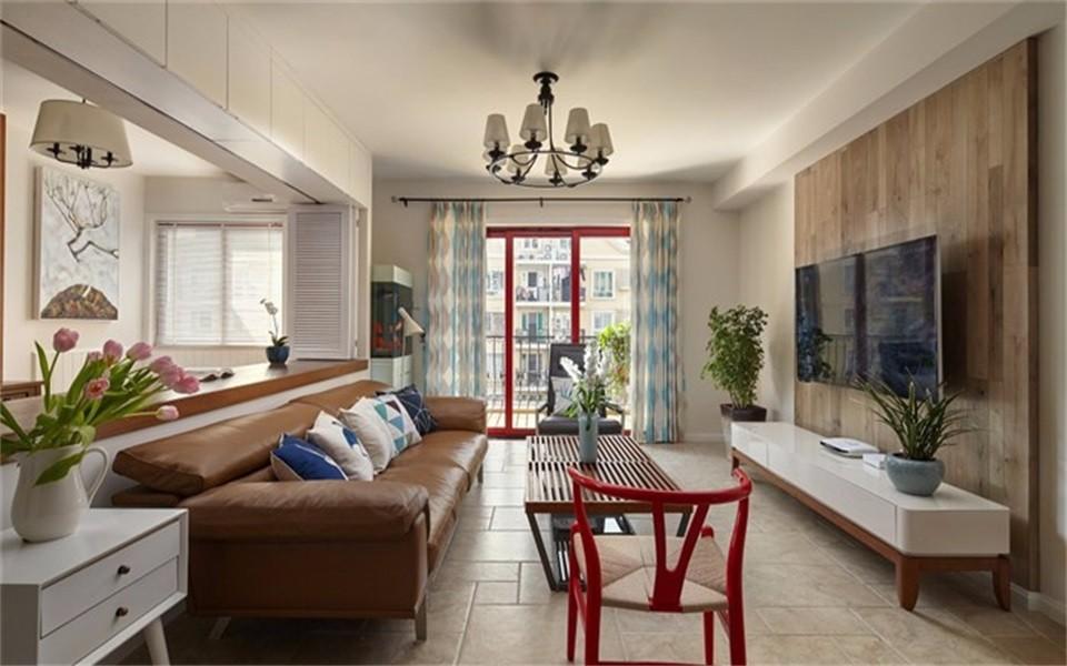 3室1卫2厅95平米北欧风格