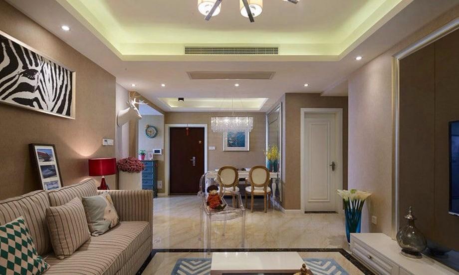 2室1卫1厅87平米混搭风格