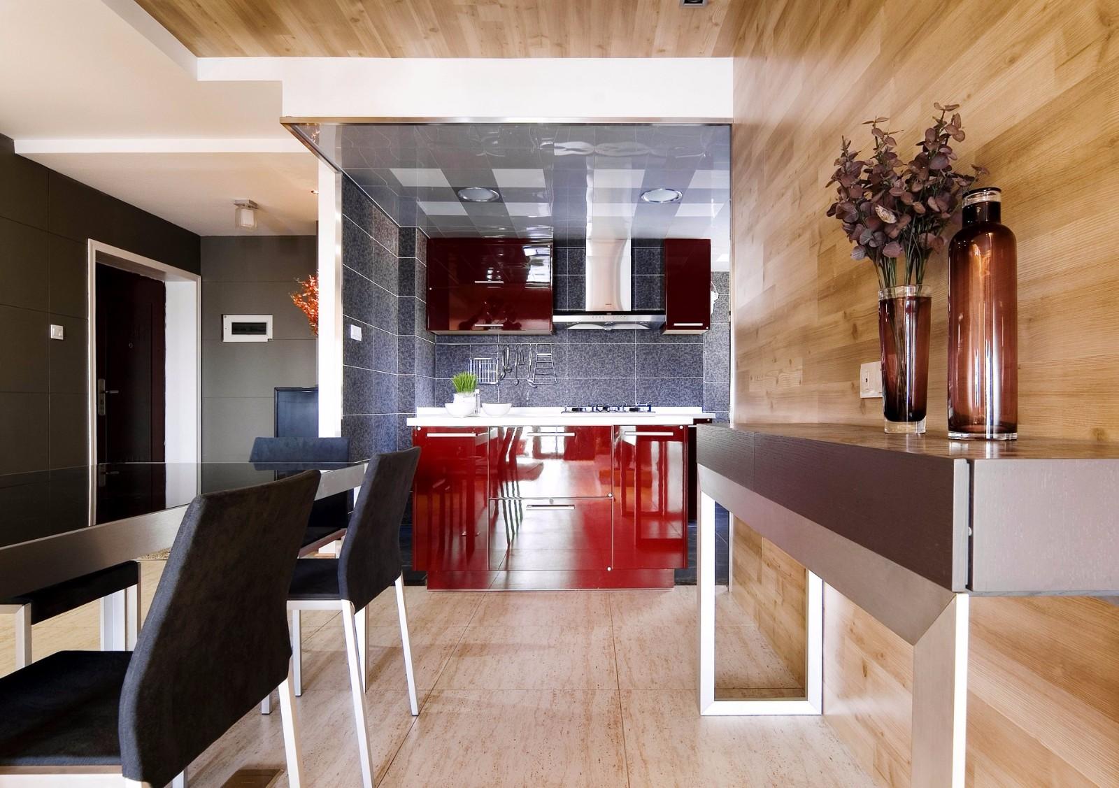东方名邸100平现代简约三居室装修效果图