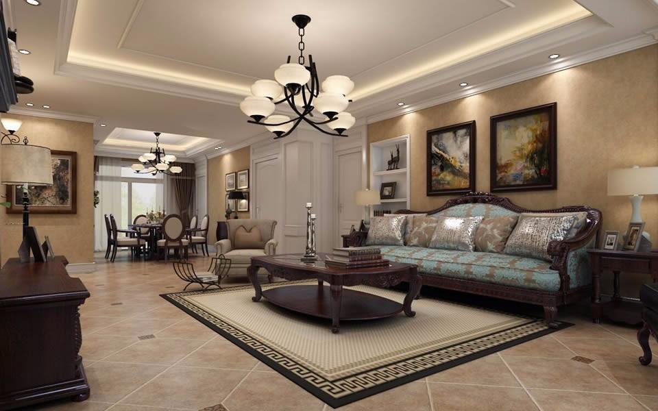 4室2卫2厅138平米美式风格