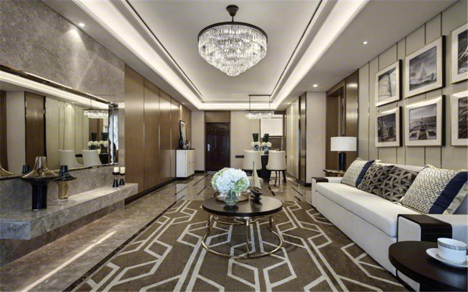 4室2卫2厅120平米现代简约风格