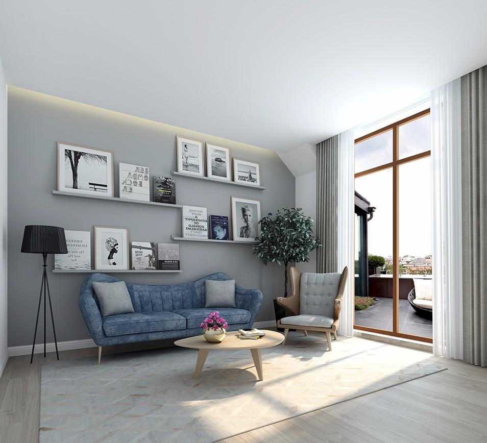 2020北欧300平米以上装修效果图片 2020北欧别墅装饰设计