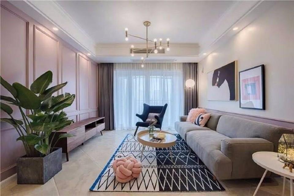 3室2卫2厅140平米混搭风格