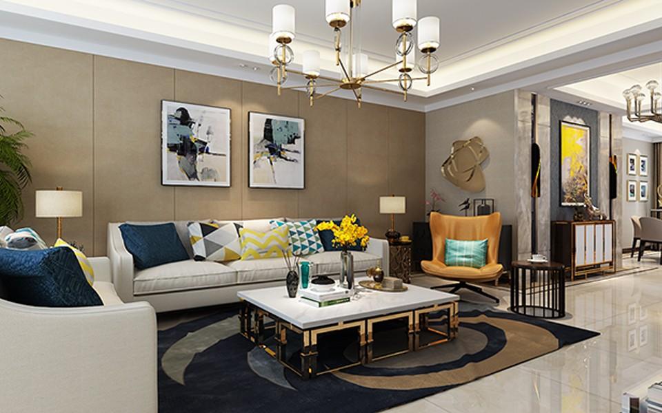 3室2卫2厅170平米现代简约风格
