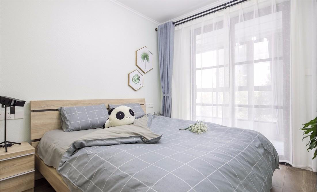 现代简约风格83平米2房2厅房子装饰效果图