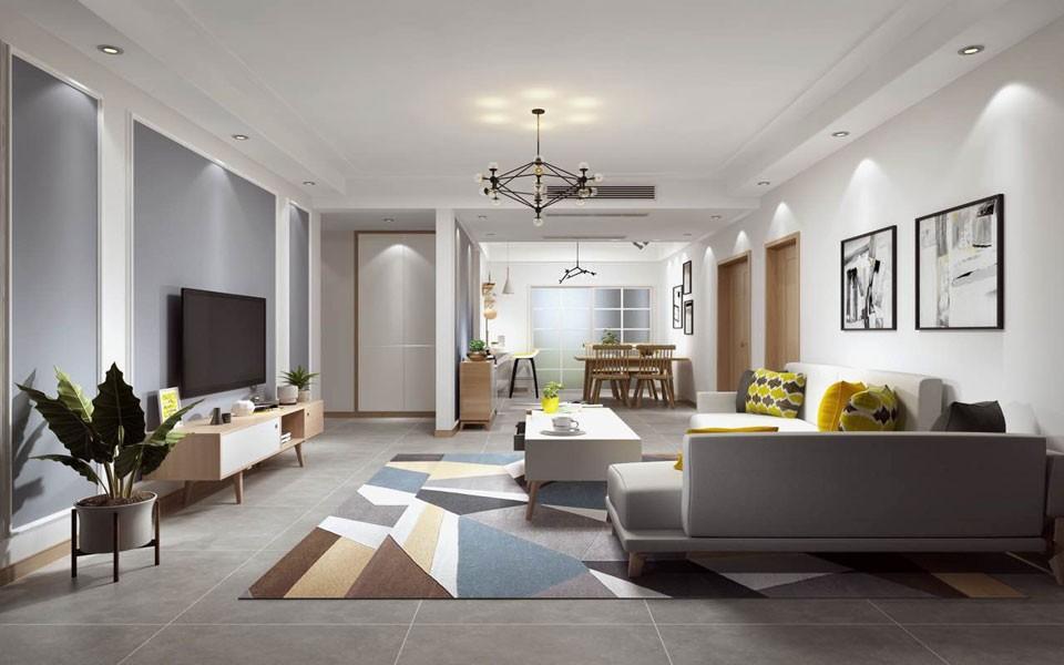 3室2卫2厅134平米现代简约风格