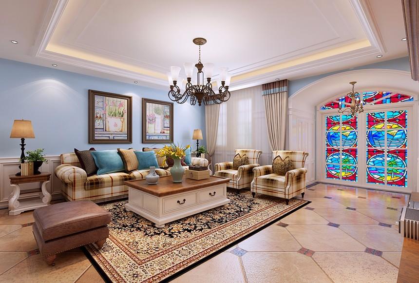 3室1卫1厅地中海风格