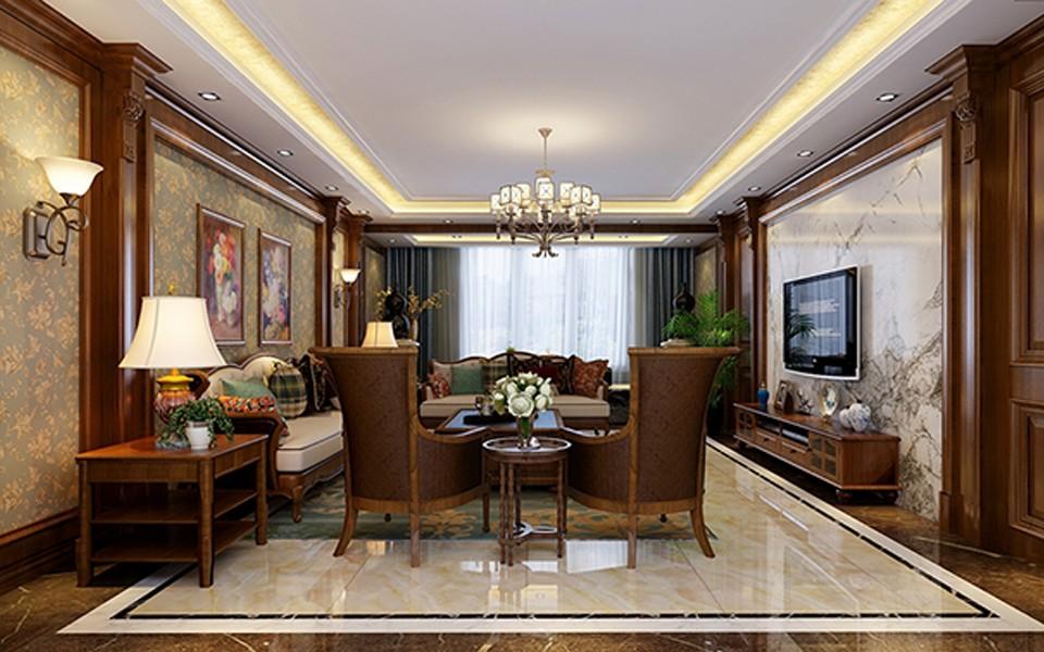 3室2卫2厅220平米新古典风格