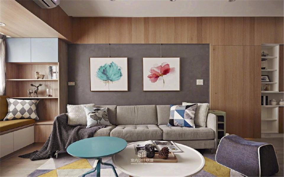 3室2卫2厅89平米北欧风格
