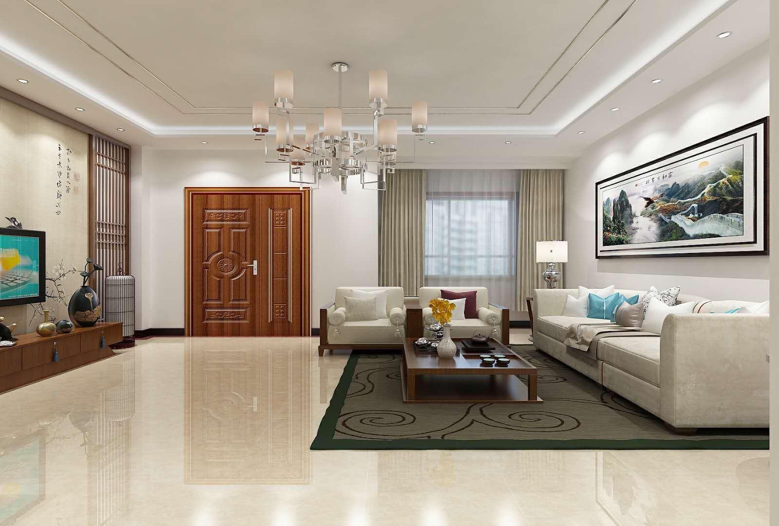 4室3卫3厅200平米新中式风格
