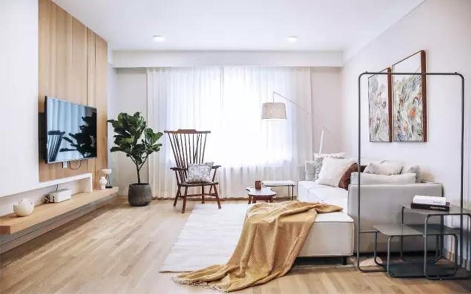 广州天健上城160平米现代简约风格三居室装修效果图