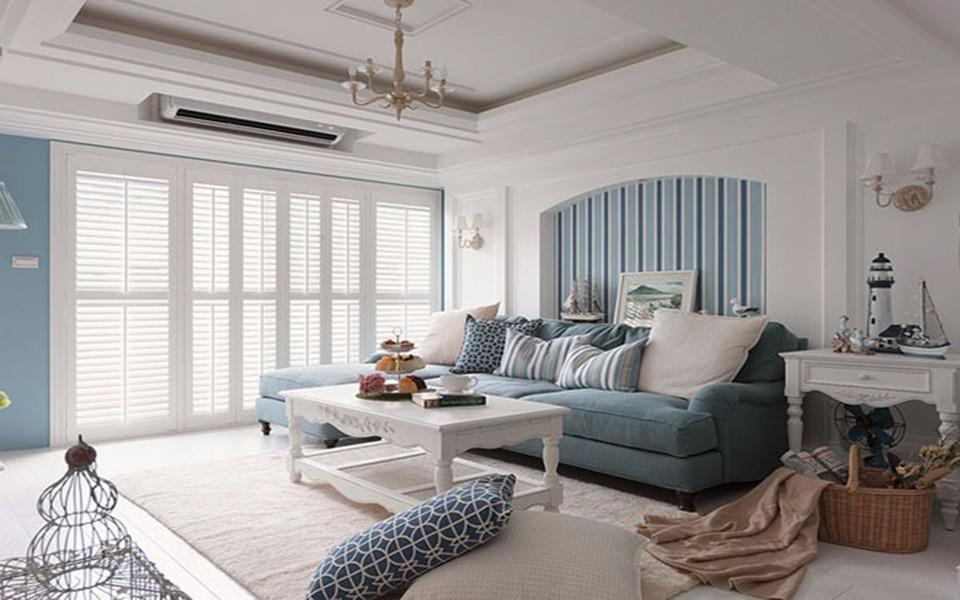 嘉丰万悦城88平米二居室地中海风格装修效果图