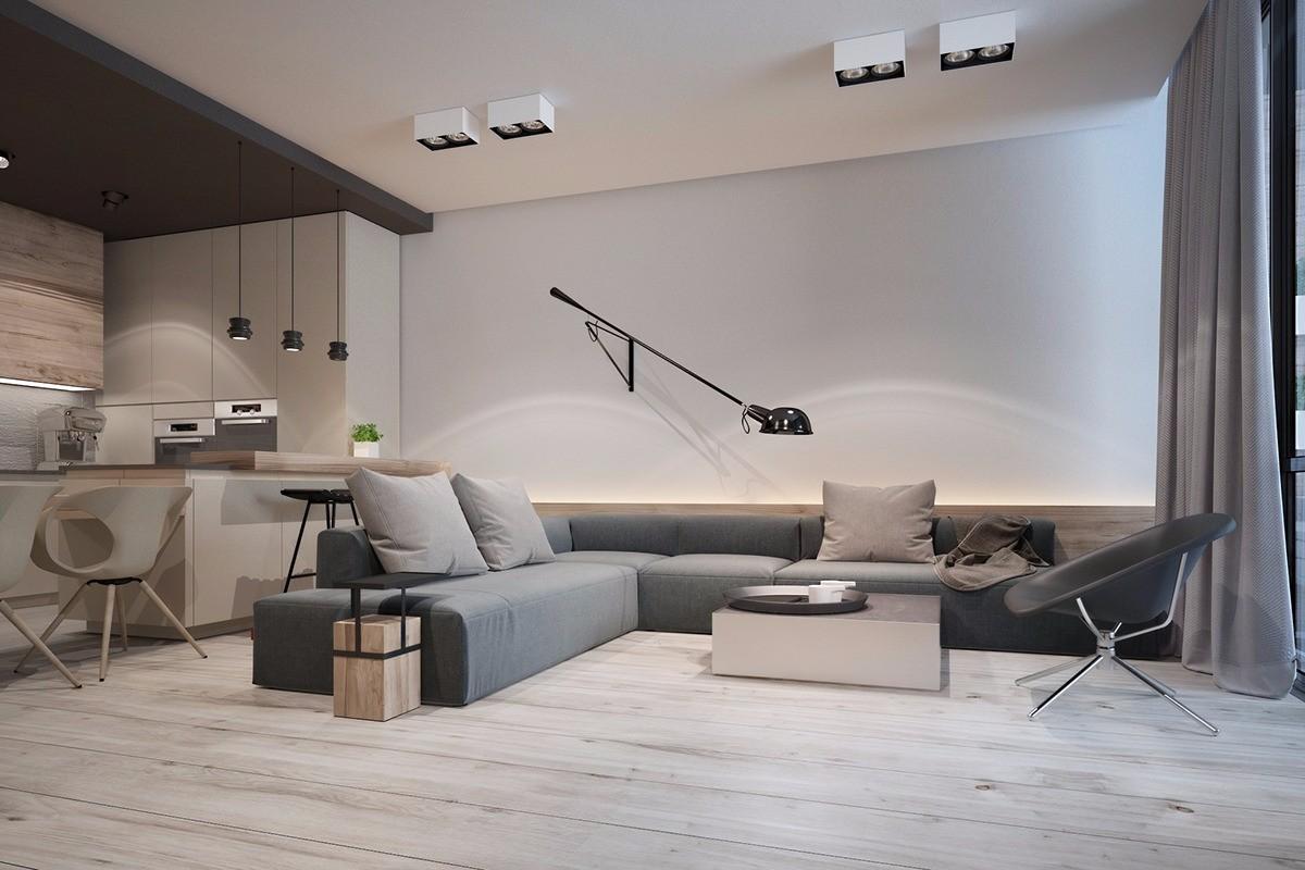 永和家园100平现代风格三居室装修效果图