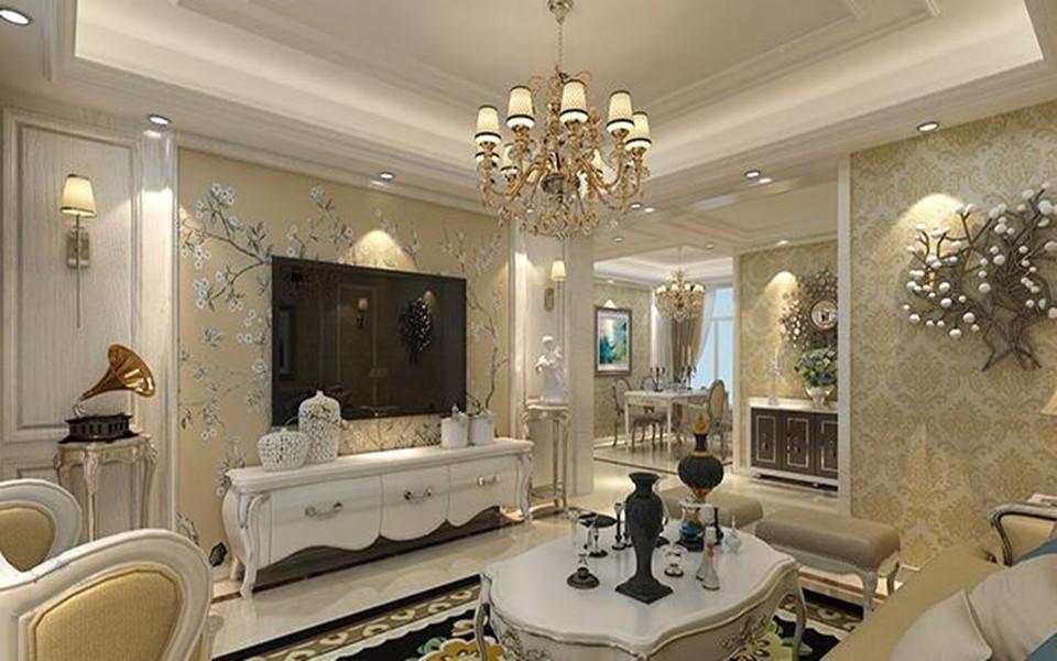 3室2卫1厅146平米欧式风格