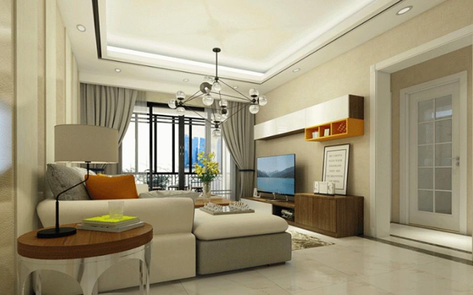 3室2卫1厅121平米现代简约风格