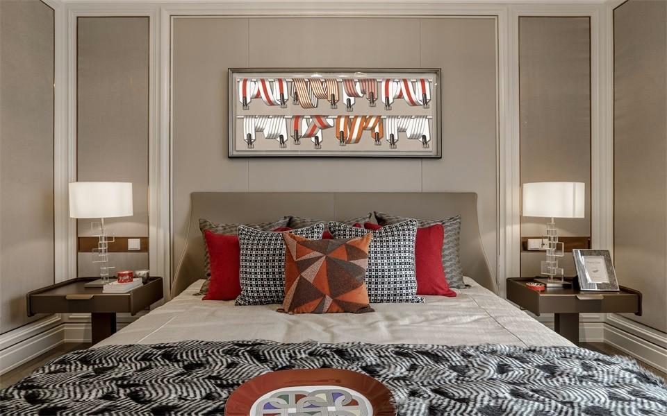 2020经典卧室装修设计图片 2020经典床装修效果图片