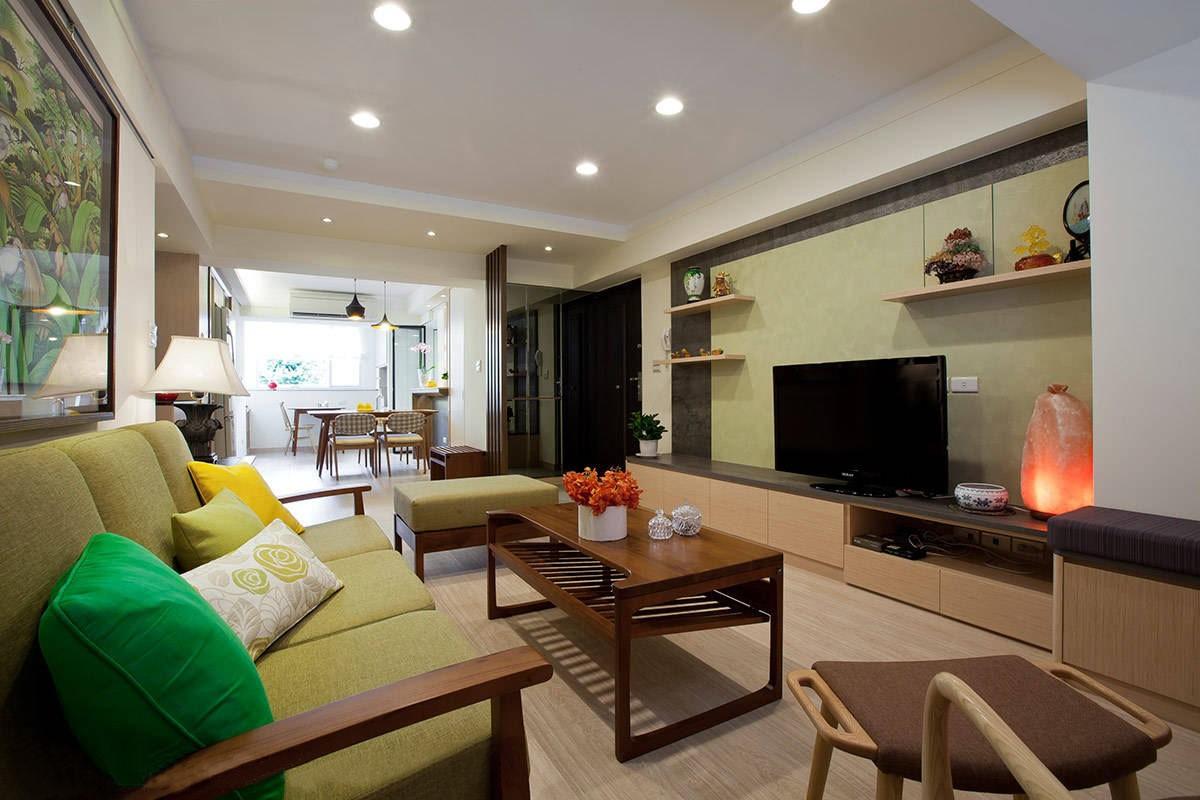 重庆天地混搭风格126平米三居室装修效果图