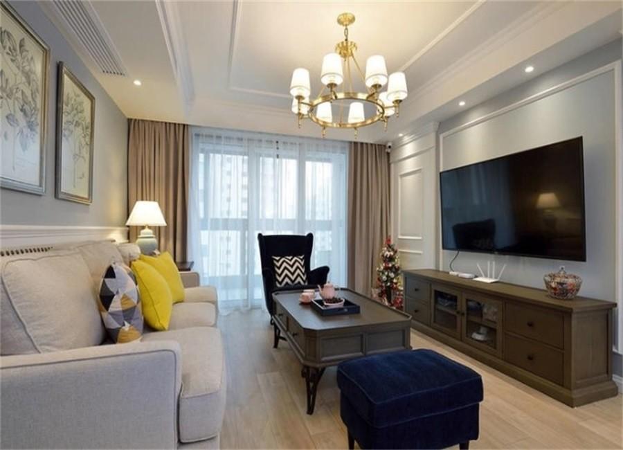3室2卫2厅125平米美式风格