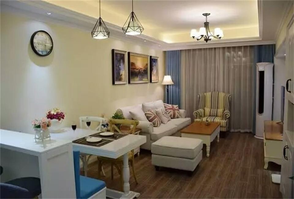 2室1卫2厅86平米美式风格