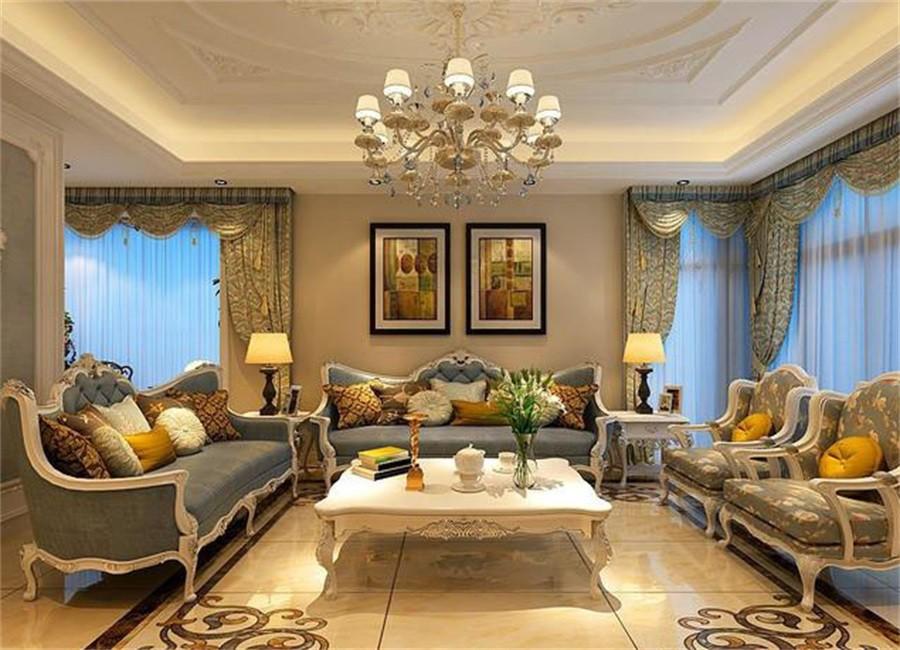 新古典风格152平米四室两厅新房装修效果图