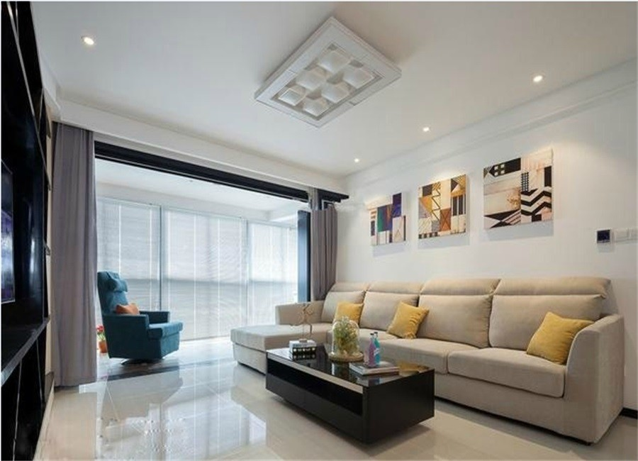 3室2卫2厅131平米现代简约风格