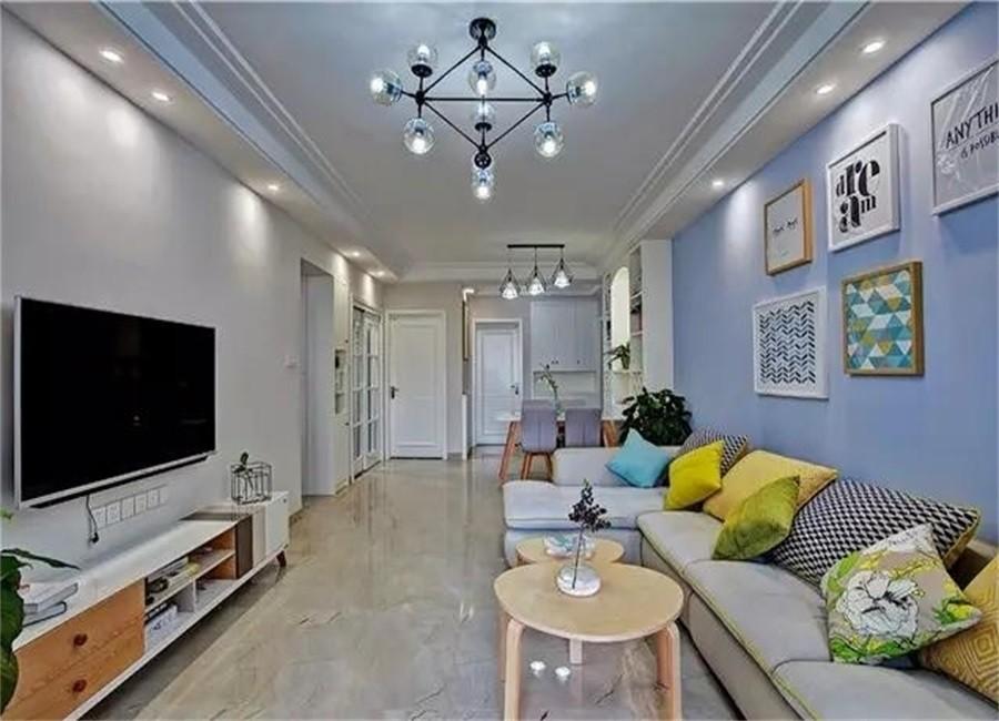 2室1卫1厅81平米现代简约风格